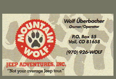 Mountain Wolf Jeep Adventures